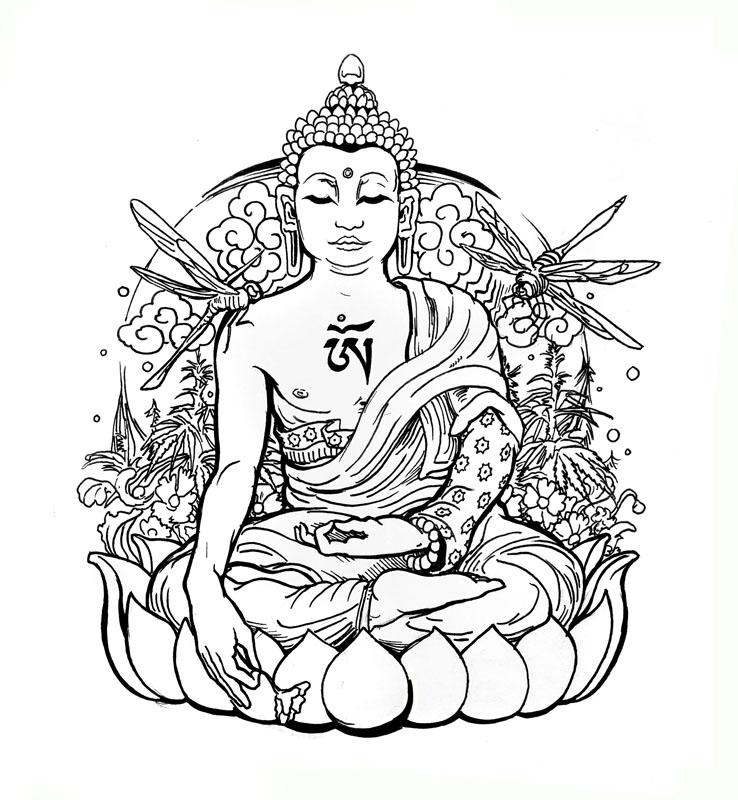 Medicinal Buddha - Art of Kaliptus - Transpersonal Realms of Consciousness