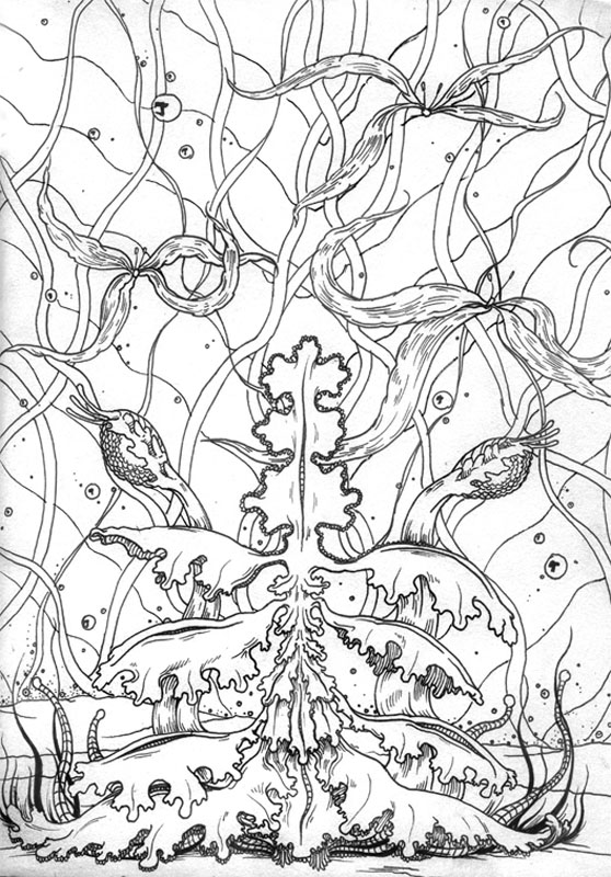 Plantae Divinorium - Art of Kaliptus - Transpersonal Realms of Consciousness