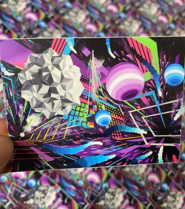 Create Your Own Reality - Stickers - Art of Kaliptus - Transpersonal Realms of Consciousness